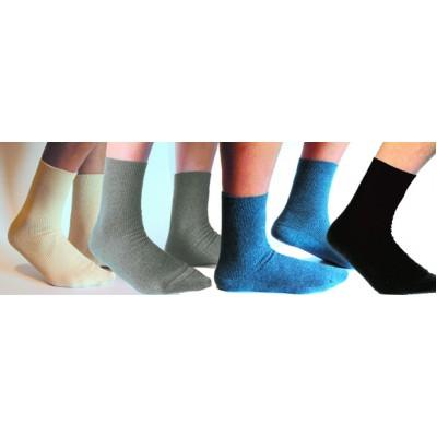 Socquettes adulte toutes tailles coton biologique