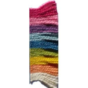 Fil à tricoter laine bio & soie 50/50; teinture végétale : uni, la pelote de 100gr