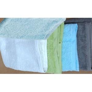 Gants de toilette, en coton bio de taille 22/16 cm, le lot de 2