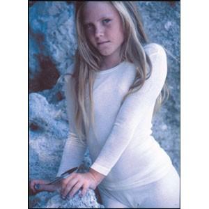 Maillot manche longue  col rond coton - Sous vêtement bio enfant
