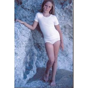 Slip coton fille - Sous vêtement bio enfant
