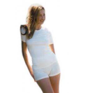Culotte shorty écru,noir,rose foncé coton bio  - Sous vêtement bio femme